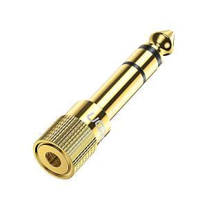 UGREEN 3.5mm to 6.35mm 変換プラグ ステレオミニプラグ ⇒ステレオ標準プラグ ...