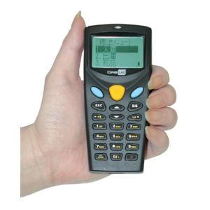 バーコードハンディターミナル MODEL 8000 クレードルセット (8000L-02U レーザモデル本体:電池式+通信クレードル[USB COM]) welcom-barcode