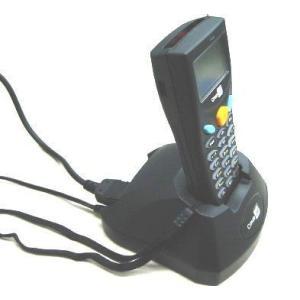 MODEL 8001 バーコードハンディターミナル クレードルセット(8001L-02U レーザモデル本体+充電/通信クレードル[USB COM]) welcom-barcode