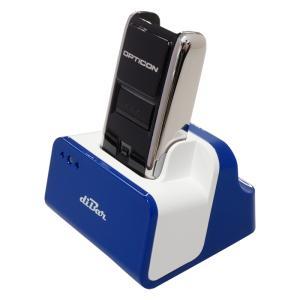 超小型 Bluetooth バーコードデータコレクター OPN-2002n+OPN-2002シリーズ用USBハブ機能搭載充電クレードルdiBar coolCradleセット|welcom-barcode