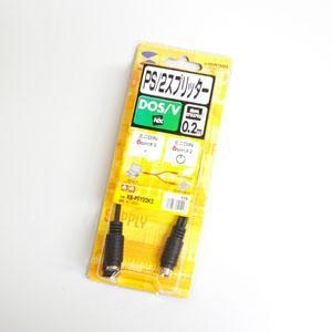 MODEL 1000 Es-one 1088 3800G 6845 他 DOS Vノート機用ポート分岐ケーブル PSY02K2 Mini-Din6P|welcom-barcode