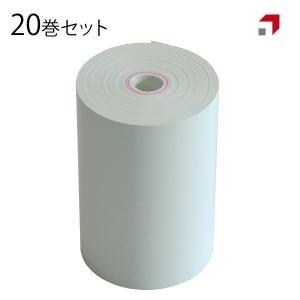 20巻セット:感熱レシートロール紙 R-DT058080 幅58mm × 直径80mm 20mmコア...