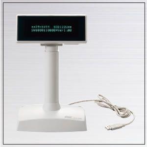 カスタマディスプレイ USB接続 SCD122U welcom-barcode