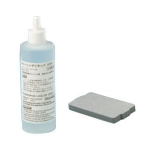 TCP300IIカードリーダー/ライター用クリーニングキット(A) PET TCP-CLN-KITA-PET 59993610 薄手カード30枚+250mlボトル1本|welcom-barcode