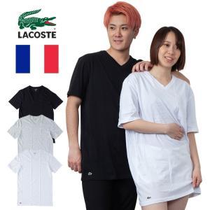 ラコステ LACOSTE Tシャツ メンズ 半袖 Vネック 無地 Classic Fit V Neck Tee 全3色 2019SP 定番モデル 正規品 USAモデル