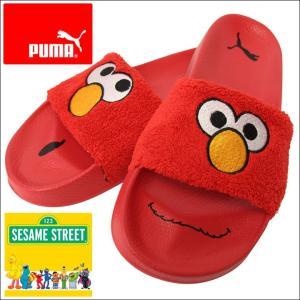 PUMA プーマ サンダル メンズ SESAME STREET セサミストリートコラボ Leadcat Sesame Street 正規品 USAモデル...