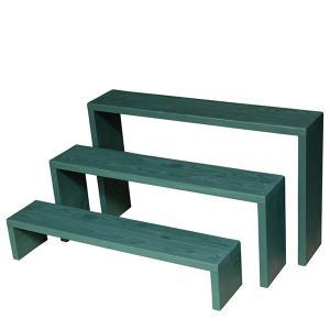 Welcome Wood フラワースタンド ウッドステージ90型3段タイプ  フラワーラック 飾り台|welcomewood|09