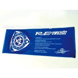 RE雨宮 ニュー ロータリーロゴ スポーツタオル RE FC FD RX-7 RX-8|welcstore