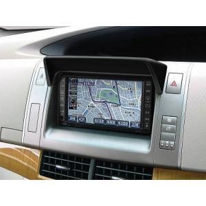 J-NEXT ポリウレタン製 車種別専用 ナビバイザー TOYOTA ESTIMA(R50W/55W) ディーラーオプション/社外ナビ装着車用|welcstore