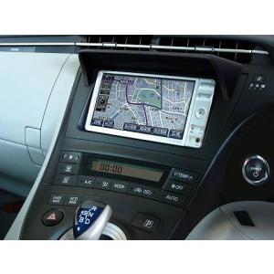 J-NEXT ポリウレタン製 車種別専用 ナビバイザー TOYOTA PRIUS 30(W30) ディーラーオプション/社外ナビ装着車用|welcstore
