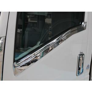 いすゞ エルフ 07 標準車 ドアメッキカバー イスズ ISUZU ELF 2tトラック トラックカスタム|welcstore