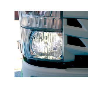 いすゞ エルフ 07 ハイキャブ 標準車用 ヘッドライトLED ISUZU ELF 2tトラック トラックカスタム|welcstore
