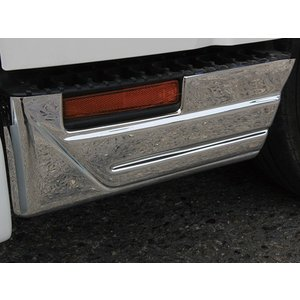 いすゞ エルフ 07 標準車 メッキ ステップカバー イスズ ISUZU ELF 2tトラック トラックカスタム|welcstore