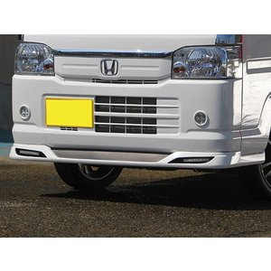 J-NEXT ホンダ アクティ トラック HA8/HA9 用フロントスポイラー LED付 塗装済 HONDA ACTY 軽トラ 軽トラカスタム|welcstore