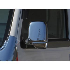 J-NEXT ホンダ アクティ トラック HA8/HA9 用 ドアミラー メッキカバー メッキ ミラーカバー  HONDA ACTY 軽トラ 軽トラカスタム|welcstore|02