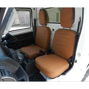 J-NEXT ホンダ アクティ トラック HA8/HA9 用 シートカバー HONDA ACTY 軽トラ 軽トラカスタム|welcstore|02