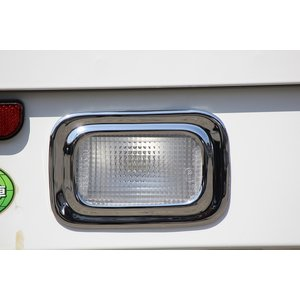 J-NEXT スズキ キャリイトラック/スーパーキャリイ(DA16T/DA63T)共通 メッキ バックランプレンズカバー|welcstore
