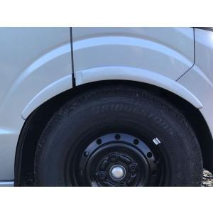 スズキ エブリィ ワゴン(DA17V/W)用 ローフォルム フェンダーモール フロント・リア 4本セット 無塗装 SUZUKI 軽バン 軽バンカスタム|welcstore