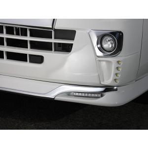 J-NEXT ダイハツ ハイゼット/ハイゼット ジャンボ(S500P/S510P) フロントスポイラー用 メッキガーニッシュ DAIHATSU HIJET 軽トラック 軽トラカスタム|welcstore