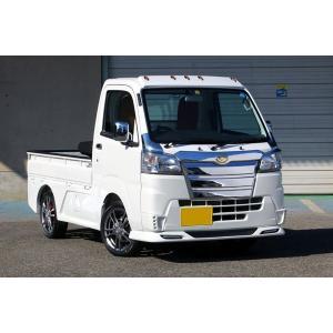 J-NEXT ダイハツ ハイゼット/ハイゼットジャンボ (S500P/S510P)用 フロントスポイラー(LED付) 塗装済 DAIHATSU HIJET 軽トラック 軽トラカスタム|welcstore|02