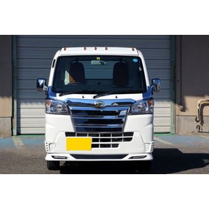 J-NEXT ダイハツ ハイゼット/ハイゼット ジャンボ(S500P/S510P)用 ドアミラーメッキカバー DAIHATSU HIJET 軽トラック 軽トラカスタム|welcstore|02