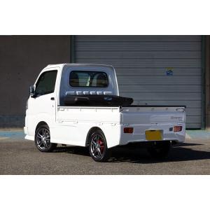 J-NEXT ダイハツ ハイゼット(S500P/S510P)用 サイドステップ 無塗装 DAIHATSU HIJET 軽トラック 軽トラカスタム|welcstore|02