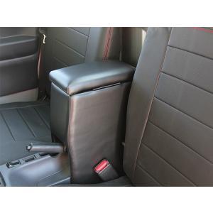 J-NEXT 軽トラック用 コンソールBOX アームレスト ボックス コンソール ボックスキャリィ ハイゼット ダイハツ スズキ 軽トラ 軽トラカスタム|welcstore