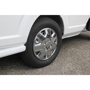 軽自動車用 メッキ ホイールカバー スポークタイプ 12インチ用 4枚セット|welcstore