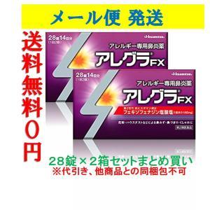 アレグラ FX 28錠×2個セット 28日分 鼻水 花粉 アレルギー 代引き不可 メール便送料無料 第2類医薬品|wellhealth-drugstore