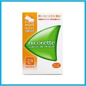 ニコレットフルーティミント 24個 指定第2類医薬品|wellhealth-drugstore