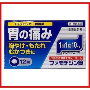 ファモチジン錠 クニヒロ 12錠 ガスターのジェネリック (第1類医薬品)|wellhealth-drugstore