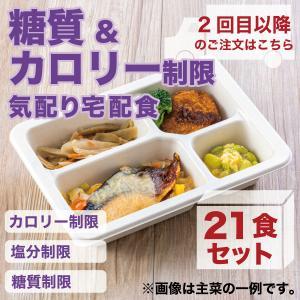 冷凍弁当/糖質制限気配り宅配食/21食セット|wellness-dining
