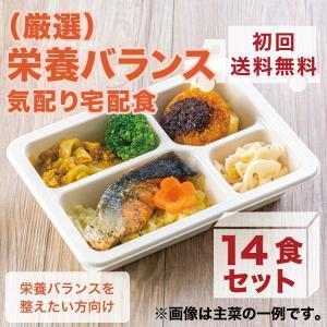 冷凍弁当/(厳選)栄養バランス気配り宅配食/14食セット≪初回送料無料≫|wellness-dining