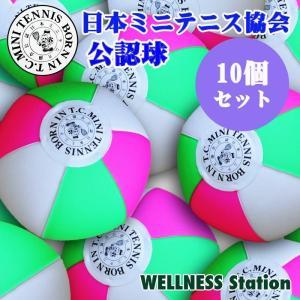 ミニテニスボール 日本ミニテニス協会公認ミニテニスボール10個セット