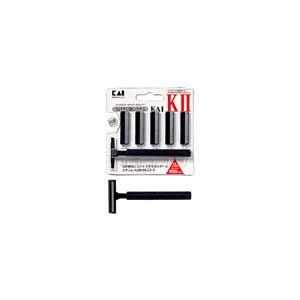 貝印 カイ・ケーツー ステンレス2枚刃5個入りの関連商品10