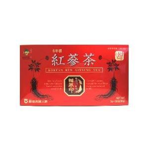 農協高麗人参 6年根 紅蔘茶 (3g×30包) 栄養機能食品ビタミンC