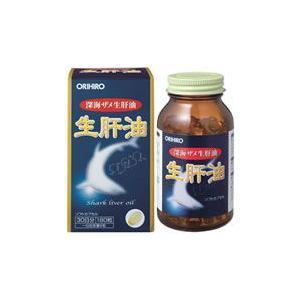オリヒロ 深海ザメ 生肝油 ソフトカプセル (180粒)