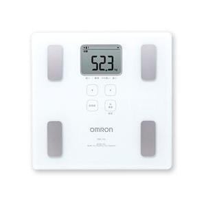 オムロン 体重体組成計 HBF-214-W ホワイト 送料無料|wellness-web