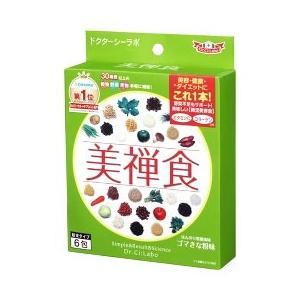 ドクターシーラボ 美禅食 びぜんしょく ゴマきな粉味 (15.4g×6包) ダイエット食品