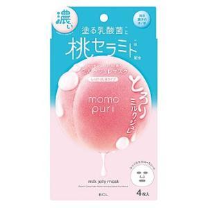 BCLカンパニー ももぷり 潤い濃密ミルクジュレマスク (4枚) シートマスク momopuri