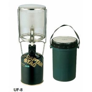 フィールドガスランタン〈L〉<圧電点火装置付> CAPTAINSTAG(キャプテンスタッグ)(フィールドガスランタン〈L〉<アツデンテンカソウチツ west-shop