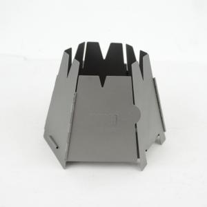 折りたたみ式ネイチャーストーブ。  落葉や枝等を燃料として使用します。収納ケース付きで軽量コンパクト...