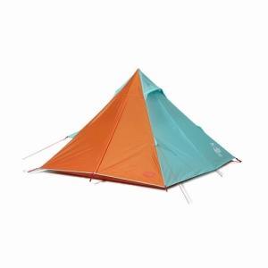 BoobyTeepee CHUMS(チャムス)(ワンポールで簡単設営、お洒落なティピー型テント)-TealOrange|west-shop