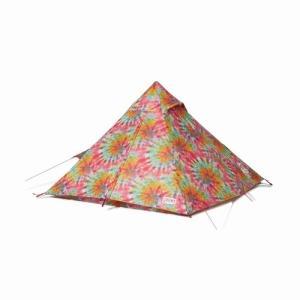 BoobyTeepee CHUMS(チャムス)(ワンポールで簡単設営、お洒落なティピー型テント)-TieDye|west-shop