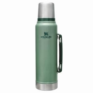 スタンレーの定番商品  真空断熱ステンレスボトルの先駆け的なステンレスボトル。 保温・保冷力だけでな...