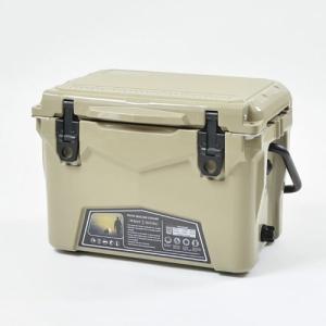 iceagecooler20QTTAN ケンコー社(ICEAGEクーラーボックス20QT)-タン|west-shop