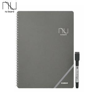 nuboard A4サイズ NGA403FN08 欧文印刷 CANSAY ノート形式ホワイトボード