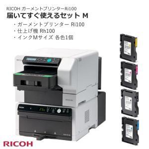 ガーメントプリンターと仕上機とインクのセット Ri100 Rh100 リコー RICOH 布印刷機