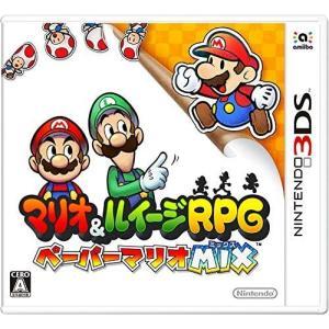 Nintendo 3DS マリオ&ルイージ RPG ペーパーマリオ MIX【中古】 westbeeeee