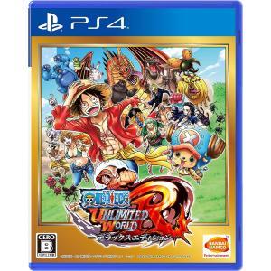 PlayStation 4 ワンピース アンリミテッドワールド R デラックスエディション 【中古】|westbeeeee